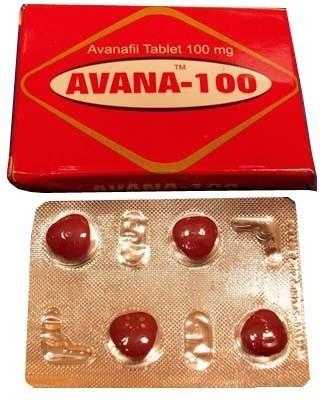 Avanafil (Avagra) 100mg